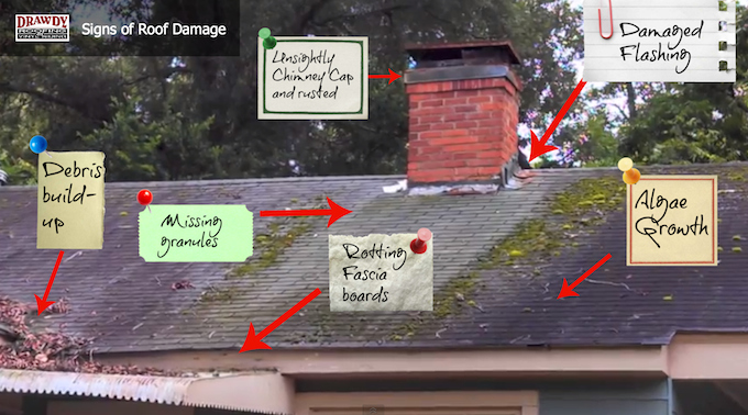 6 Signs Of Roof Damage